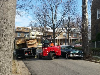 deck lumber delivery