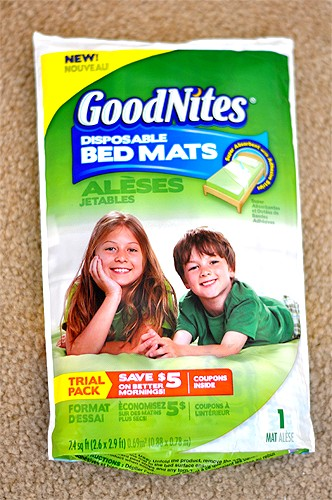 Great For Potty Training – GoodNites Disposable Bed Mats