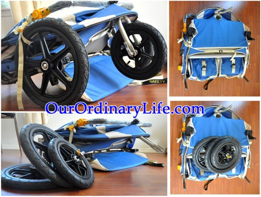 Kelty Speedster Swivel Deuce Very Low Profile for easy storage and transportation