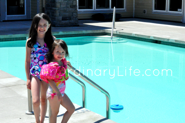 Family Time: Summer Swimming