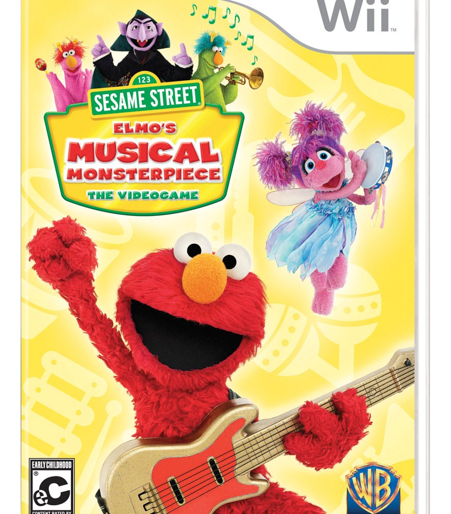 Sesame Street: Elmo's Musical Monsterpiece For Wii – Giveaway!