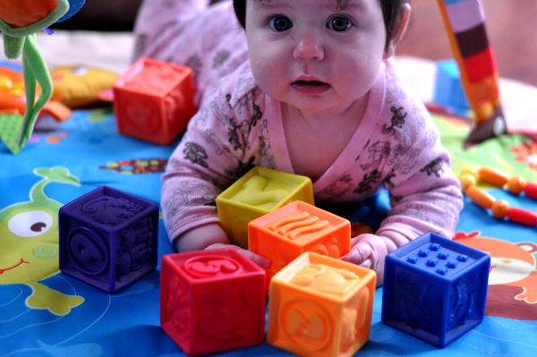 Holiday Gift Guide: Gifts For Baby – One Two Squeeze from B. toys