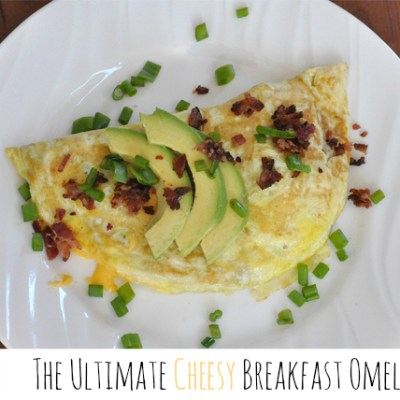 The Ultimate Cheesy Breakfast Omelet