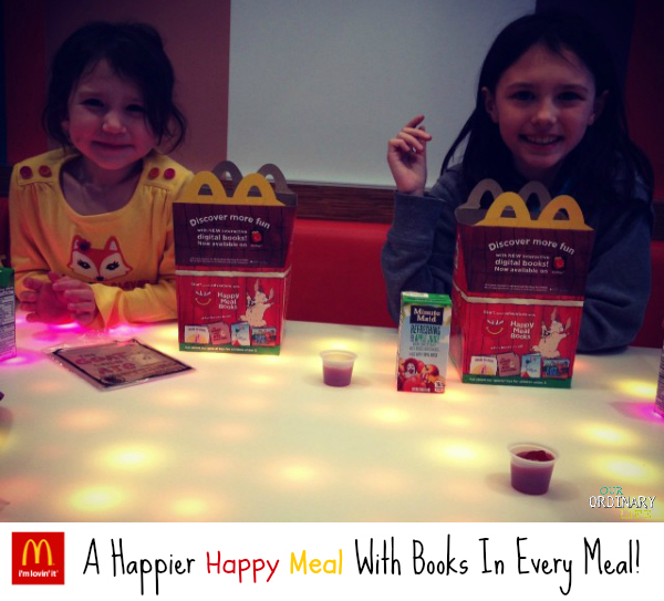 A Happier Happy Meal with Books in Every Meal at McDonald's #HappyMealBooks