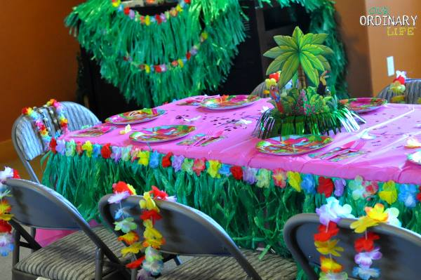 luau party birthday
