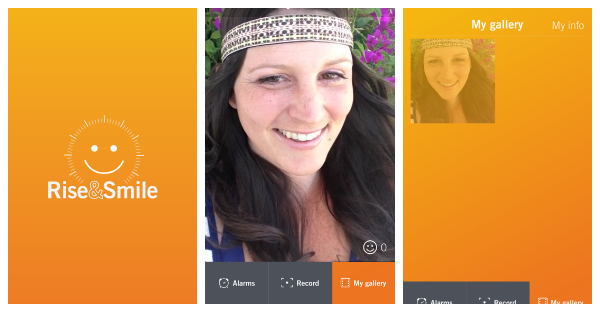 rise and smile app
