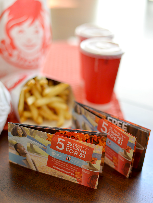 Support Foster Children -  Jr. Frosty™ Halloween Coupon Book at Wendy's