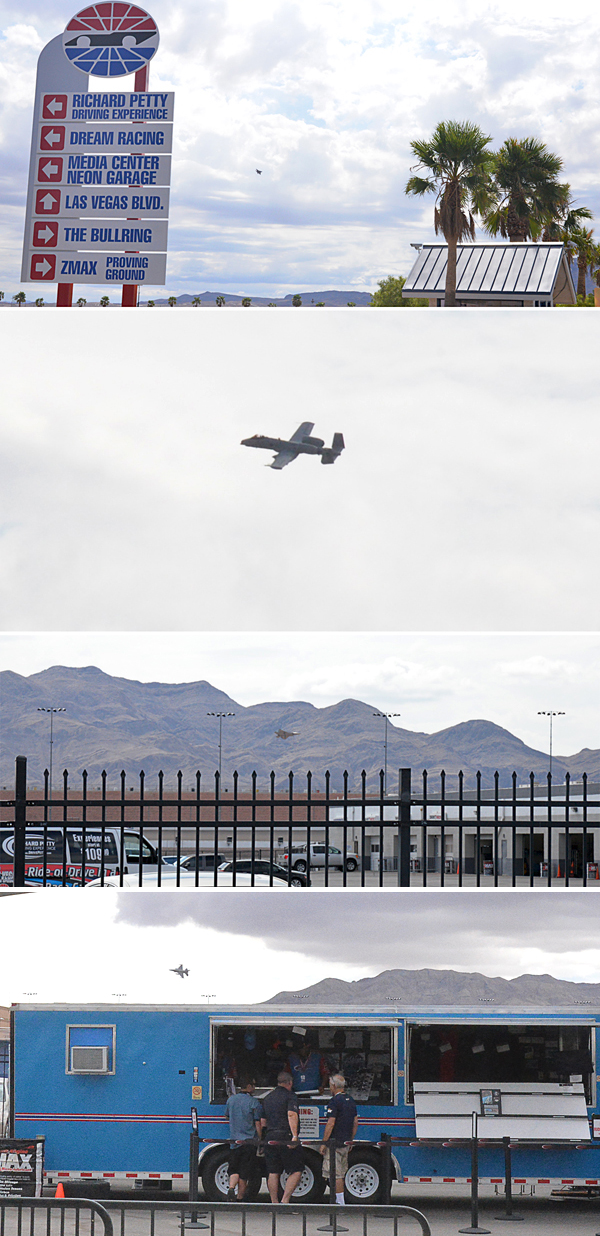 Richard Petty Driving Experience Las Vegas Nellis Jets Stealth Fighter F-22A Raptor, A-10 Warthog