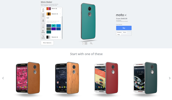 The New Moto X - A Truly Personalized Smartphone