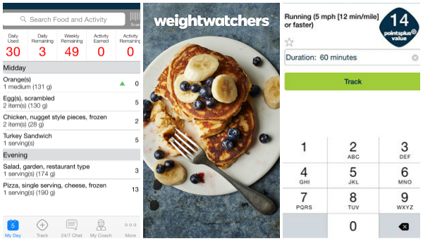 weight watchers app