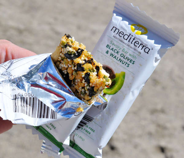 Mediterra Mediterranean Nutrition Bar Black Olives Walnuts (1)