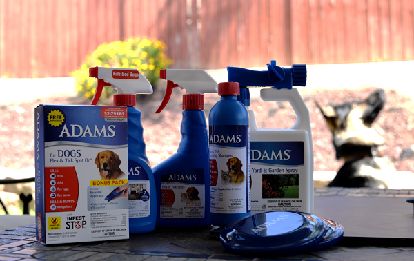 Adams Flea Tick Large Dog Product Line
