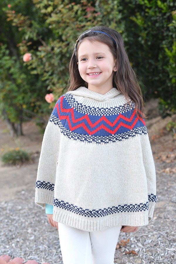 Osh Kosh BGosh Kids Girl Clothing poncho knit
