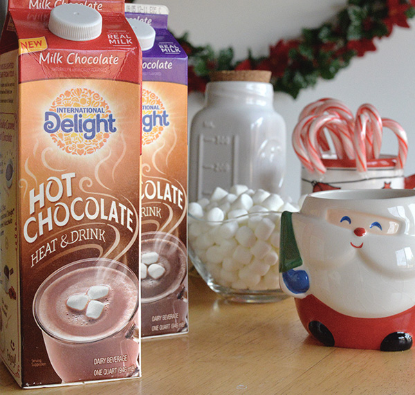 International Delight Hoc Chocolate treat recipe kids