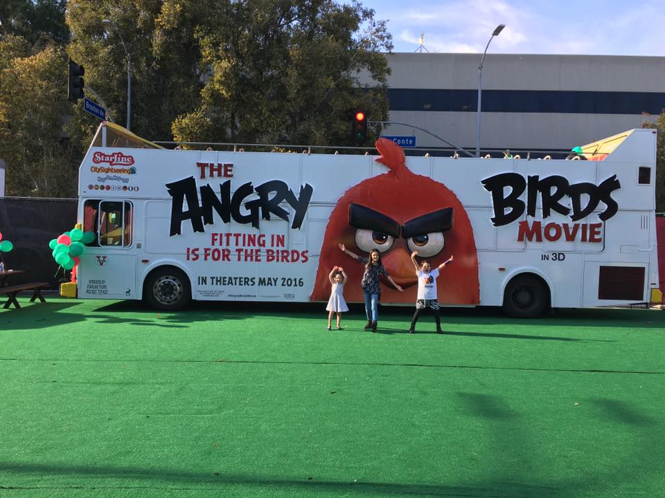 The Angry Birds Movie Premiere #AngryBirdsMovie
