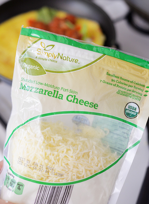 ALDI Simply Nature Shredded Cheese Organic Mozzarella