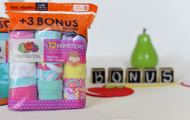 Fruit of the Loom Underwear For Children bonus pack