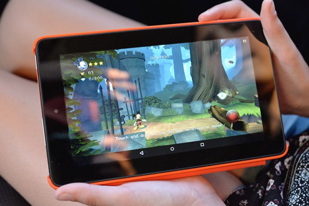 Amazon Fire Tablet Grapchis Game