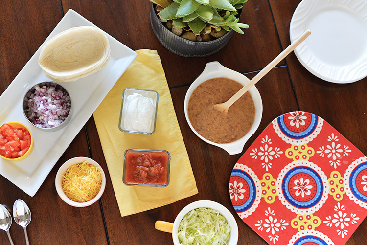 Herdez Taco Bar Idea