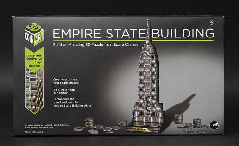 Fun For Kids – 3D Coin Art Empire State Building