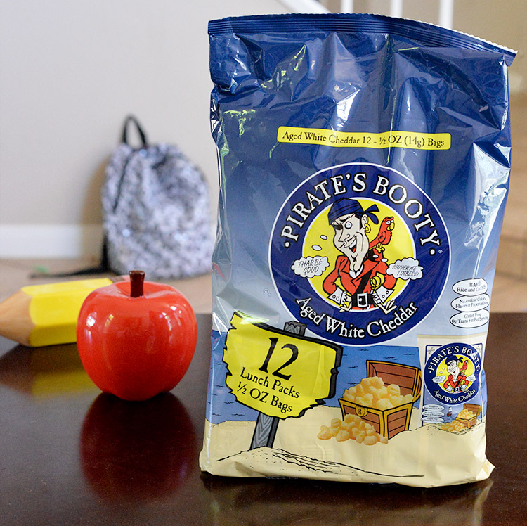 Pirate's Booty Aged White Cheddar corn puffs