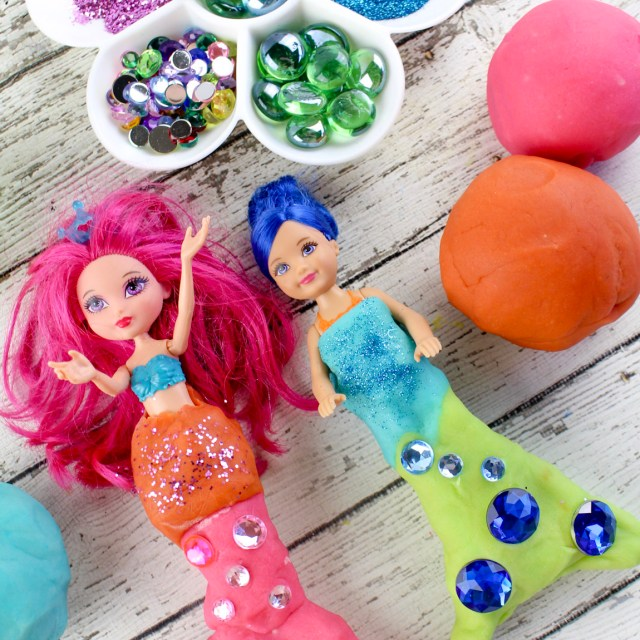 Family Activities –  Mermaid Play Dough