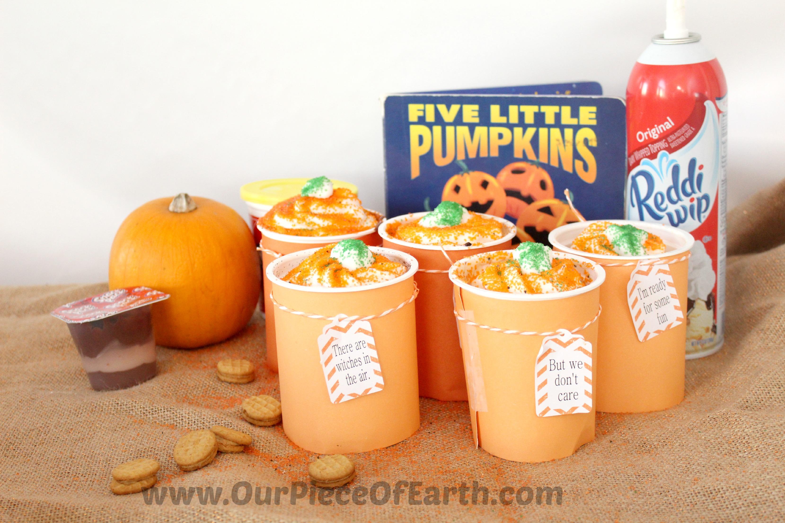5 Little Pumpkins Book Snack Idea