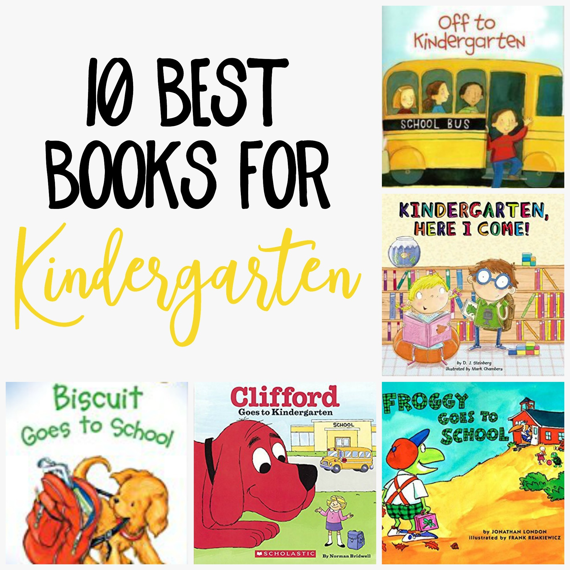 10 Best Back To School Books For Kindergarten