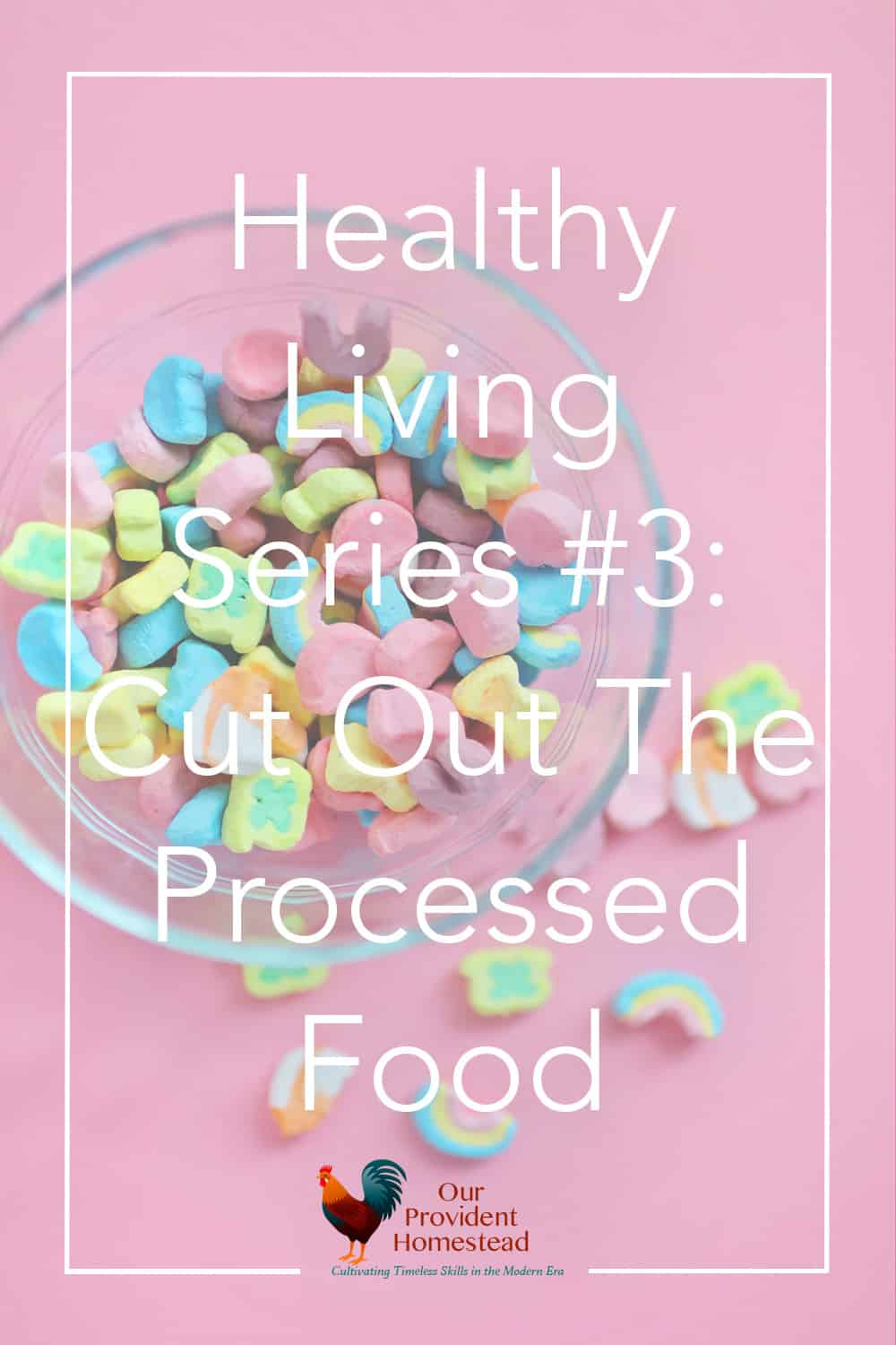 Do you eat healthy? In this third part of the Healthy Living Series, we discuss processed food and how we can cut it out of our diet and eat healthier. #healthyliving #realfood #health