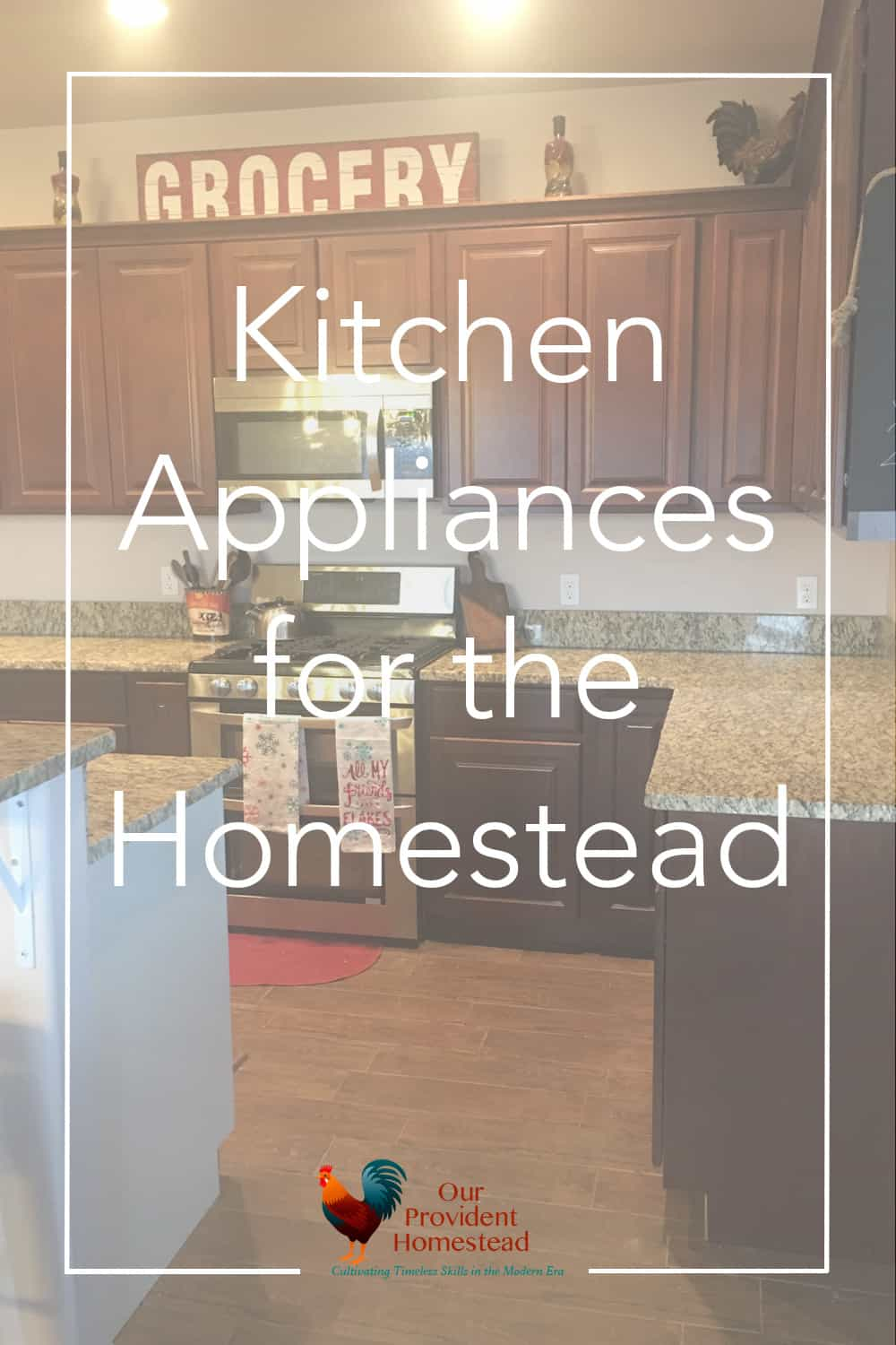 What are your favorite kitchen appliances? I have several that I use and love on a daily basis. Check them out on the blog today! Kitchen Appliances | Homestead Kitchen | Cooking Real Food