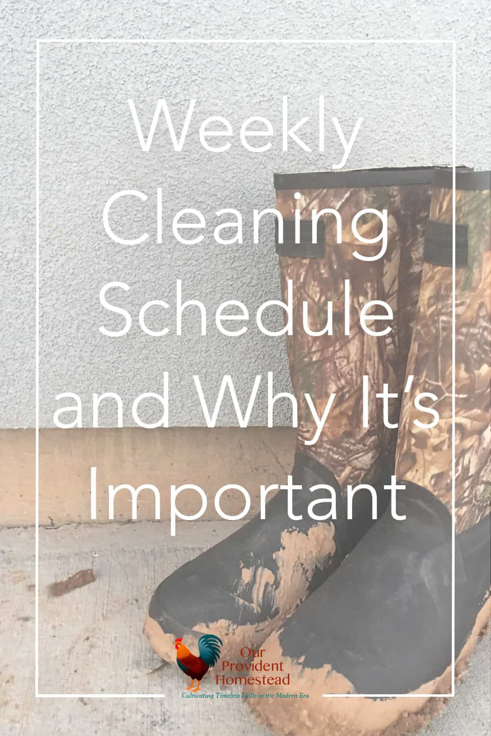 Do you have a hard time keeping your house clean regularly? We discuss a weekly cleaning schedule and how you can use it in your life. Weekly Cleaning | Cleaning Schedule | Homemaking