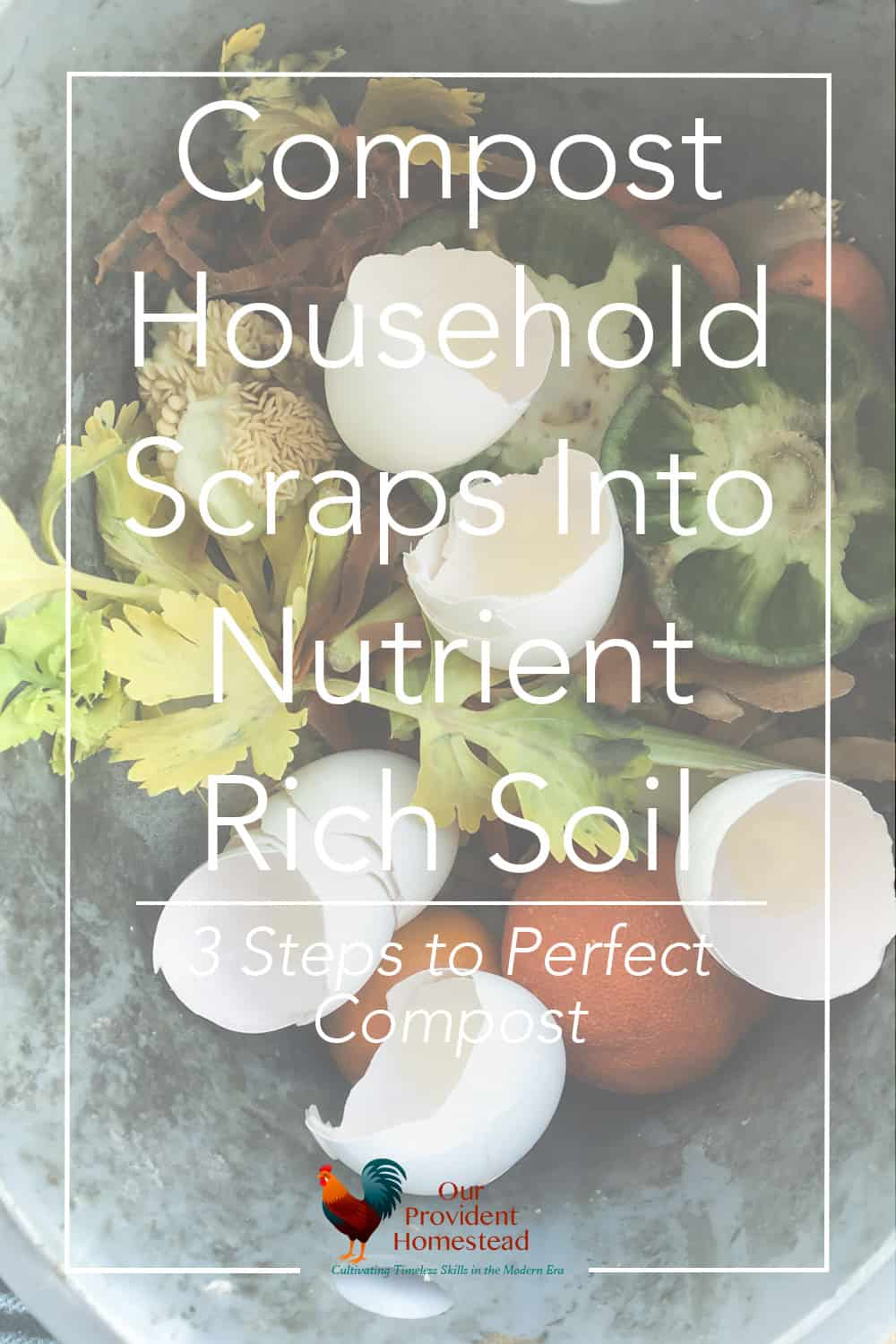 What do you use to help the soil in your garden perform better? Compost household scraps into nutrient rich soil in 3 easy steps. Composting | Garden Soil | Nutrient Rich Soil