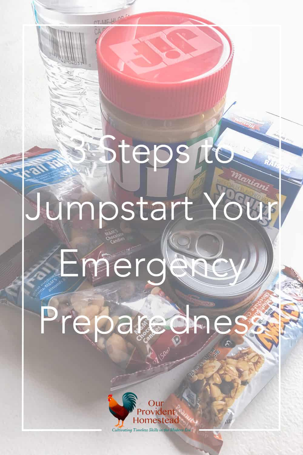 Are you prepared for an emergency in your home? We cover three ways you can get started with emergency preparedness so your family will be ready. Emergency Preparedness | 72 Hour Kit | Photo Backup