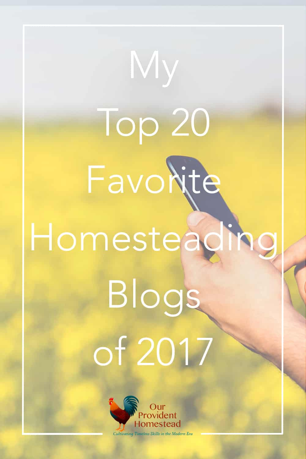 Do you have favorite blogs you follow online? Here is a list of our top 20 favorite homesteading blogs and why we love them. Blogging | Homestead Blogs