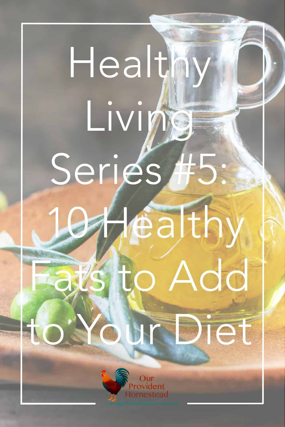 Did you know that healthy fats are an important part of your diet? Click the pin to see our top 10 favorite healthy fats and why you should be eating them. Healthy Fats | Healthy Habits Series | Add fat to your diet