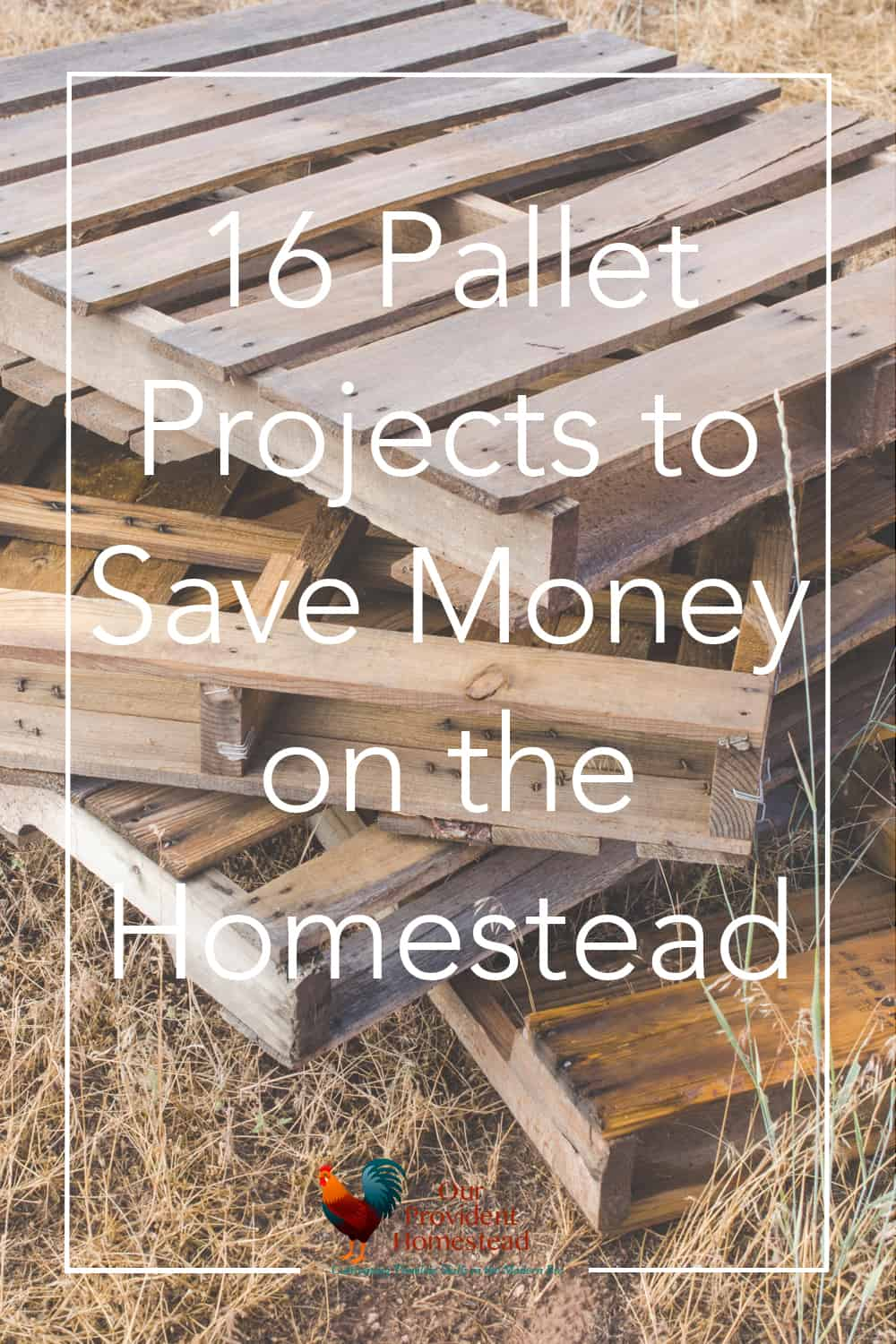 Do you love recycling old stuff to make new stuff? Click here to see how making pallet projects can add fun and functionality to your homestead. #palletfurniture #palletprojects #pallets #homesteading