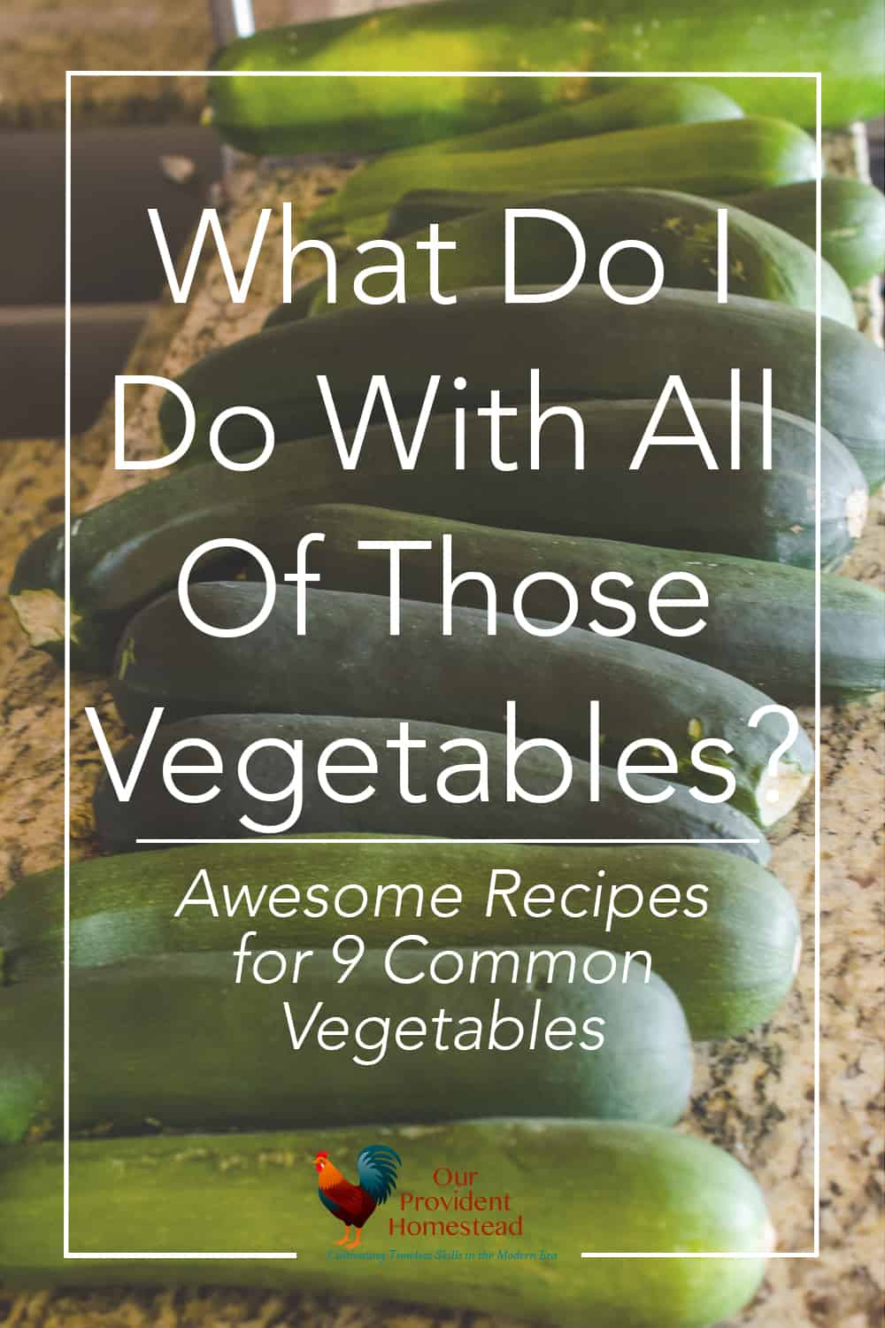 Do you have an abundance of vegetables in your garden? Click here to see what you can do with 9 different vegetables to keep your family healthy. #gardenrecipes #gardening #vegetablegardening