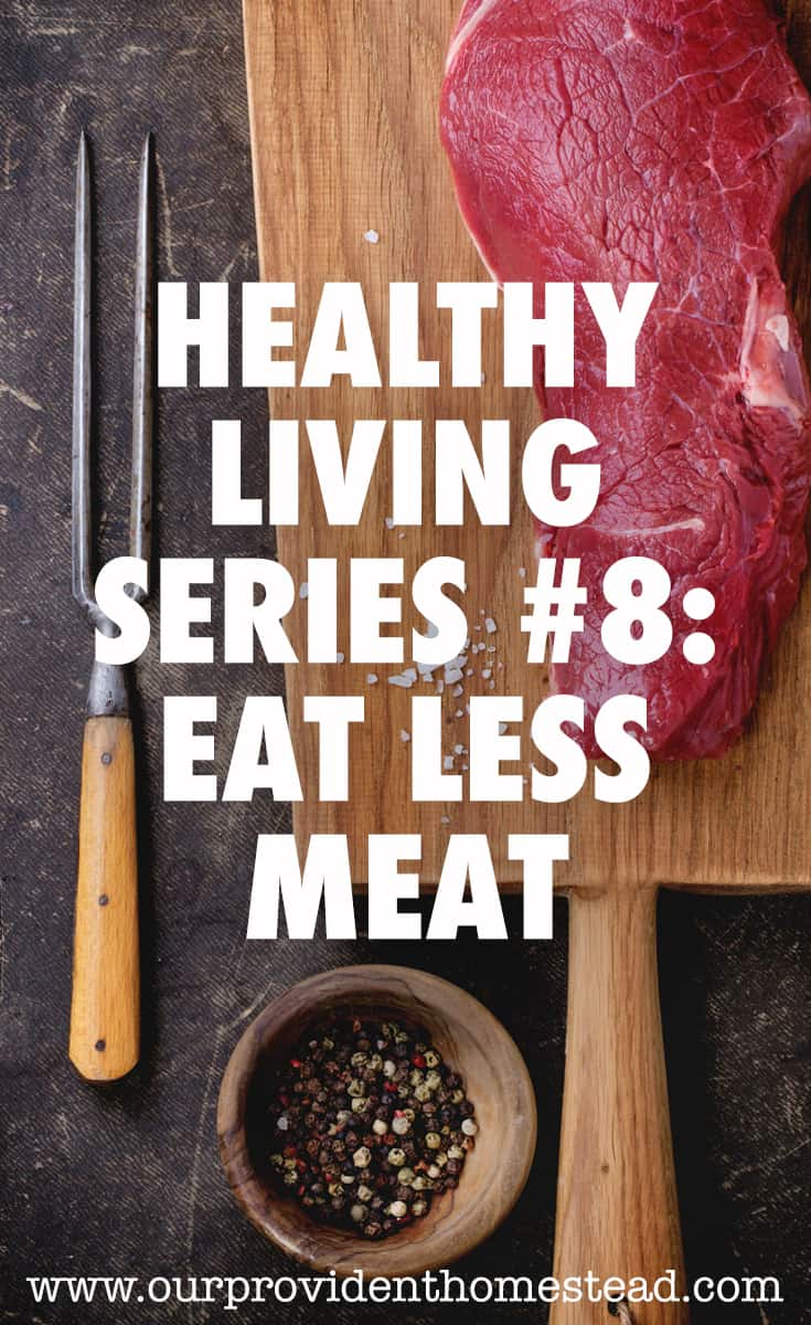 eat less meat pin