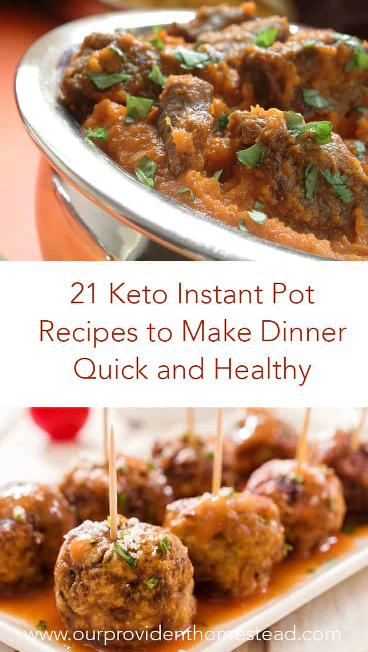 Are you looking for some Keto friendly dinner recipes? Click here to see 21 keto, low carb Instant Pot dinner recipes that are quick and healthy for your family. #lowcarb #lowcarbrecipes #keto #ketorecipes #ketodiet #ketofoods #instantpot #pressurecooker #instantpotrecipes #pressurecookerrecipes #healthydinners