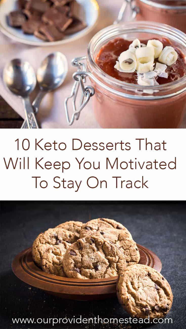 Are you looking for something sweet on your keto diet? Check out these 10 delicious keto desserts that will keep you motivated and satisfy your sweet tooth today! #keto #ketorecipes #ketodiet #ketolife #ketogenicdiet #lowcarb #lowcarbrecipes