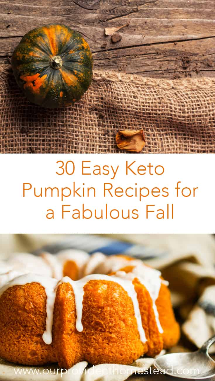 Are you ready for fall and everything pumpkin! Click here for 30 easy keto pumpkin recipes that will help you enjoy the fall season and stay low carb. #ketodiet #keto #lowcarb #lowcarbrecipes #pumpkin #fall #pumpkinrecipes #ketopumpkinrecipes #ketorecipes