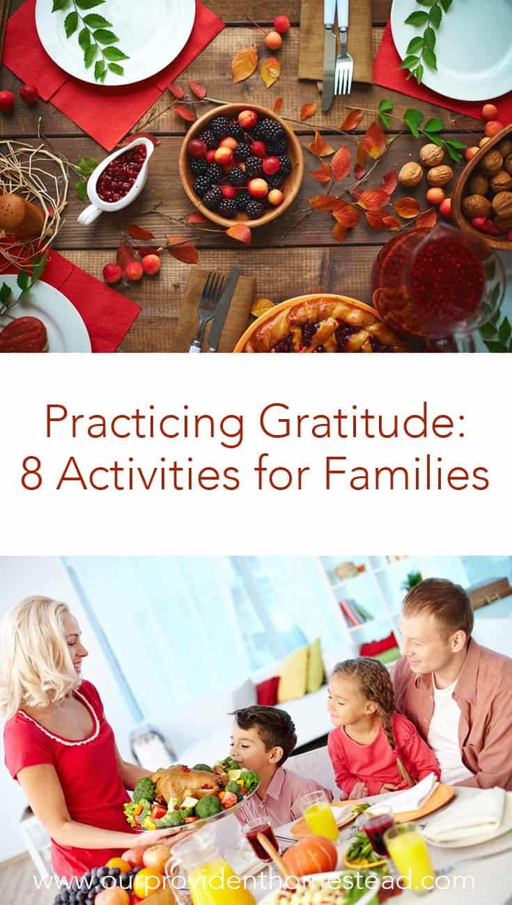 Do you want to help your children to learn gratitude this Thanksgiving? Click here to see 8 activities your family can do together to be grateful this year. #kidscrafts #gratitude #thanksgiving #thanksgivingcrafts #DIY #crafts #family