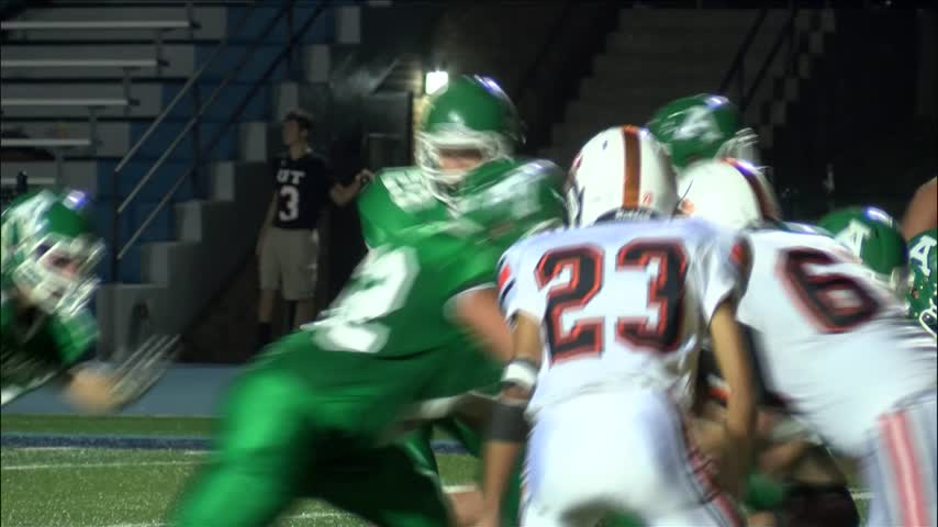 Alleman tops the UTHS Panthers 47-27_20160924040712