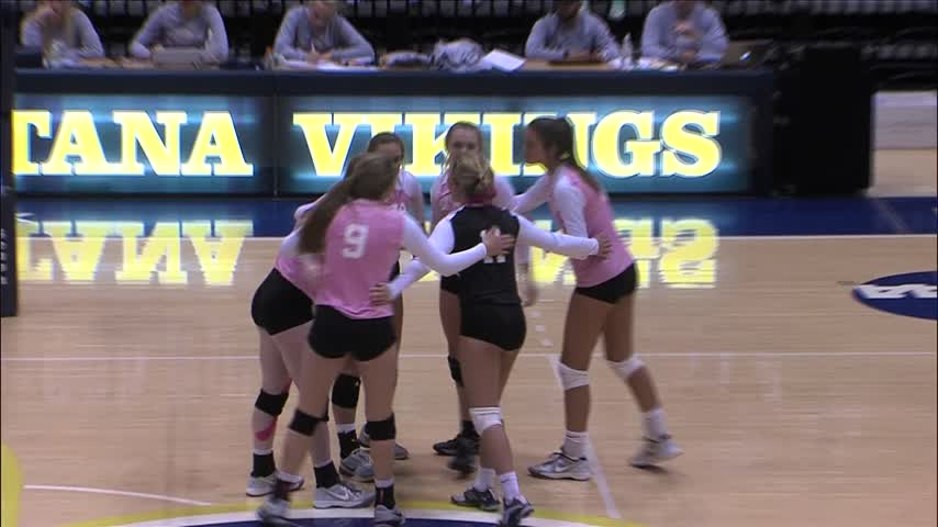 Iowa All-Stars win High School Volleyball game