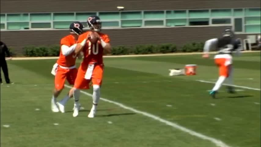 Bears Quarterback Mitch Trubisky begins rookie mini camp