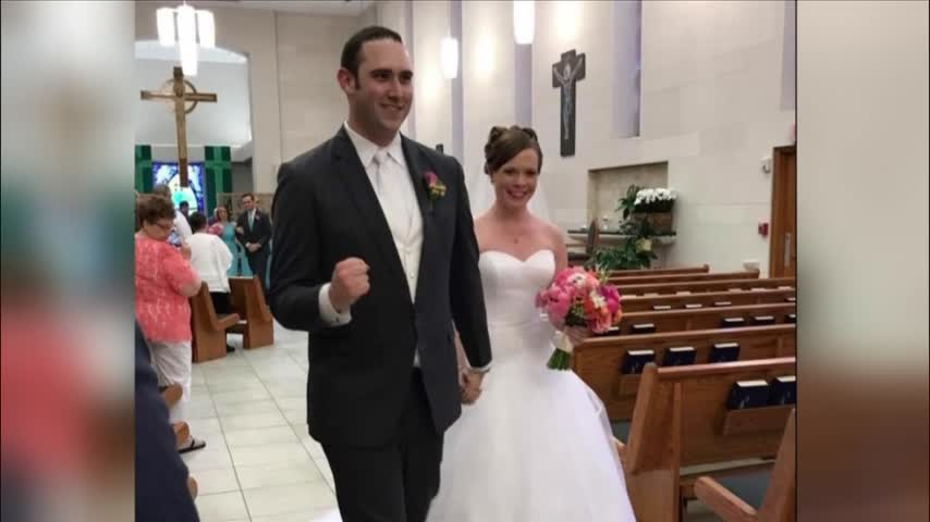 Steve Campbell gets married on July 1.
