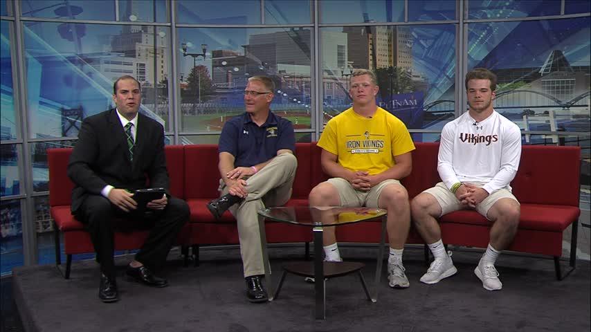 Part Two: Augustana Vikings football on Fox 18 Sports Sunday