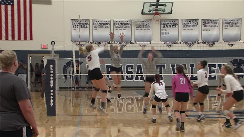 PV Volleyball and Swimming come up with wins.