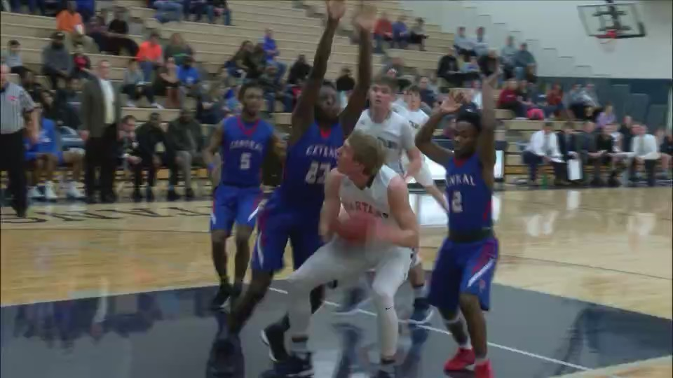 Davenport Central at Pleasant Valley Boys Basketball