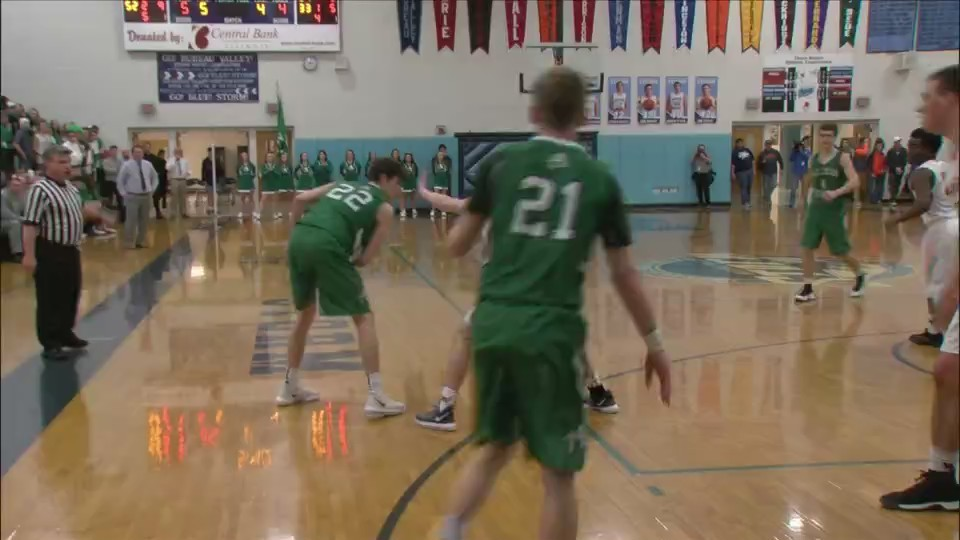 Alleman falls to Winnebago in sectional
